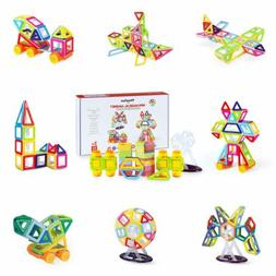 Theefun 82 Piece Magnetic Blocks Building Toys For Boys Girl