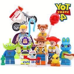 8Sets <font><b>Toy</b></font> Story 4 Buzz Lightyear Woody J