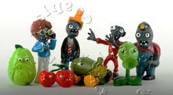 8x Plants Vs Zombies Toys Series Game Different Role Figure