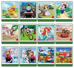 Disney 9/16 Piece Princess Frozen Wooden Box <font><b>Puzzle