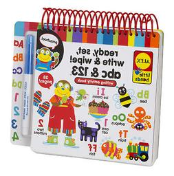 ALEX Toys Little Hands Ready Set Write and Wipe! ABC and 123