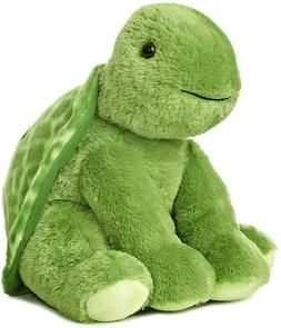 Aurora Plush Animal- Turtle 11 In.