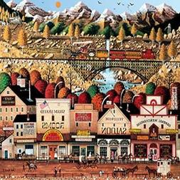 Buffalo Games - Charles Wysocki - Sleepy Town West - 1000 Pi