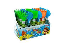 bulk buys Medium Sand Toy Bubble Maker Counter Top Display -