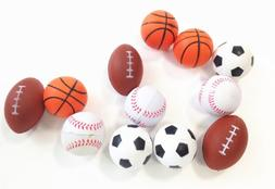 dazzling toys Mini Sports Balls Set of 12 Sports Balls for K