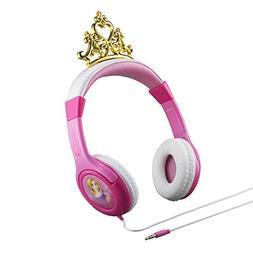Disney Princess Kid Friendly Headphones with built in volume