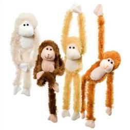 Fuzzy Friends 1 Each Burnt Orange, Blonde, Cream and Dark Br