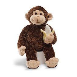 """GUND Mambo Monkey Stuffed Animal Plush, Brown, 14"""""""