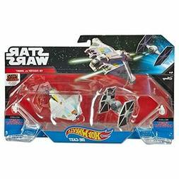 Hot Wheels Star Wars Starships Rebels Ghost vs. TIE Fighter