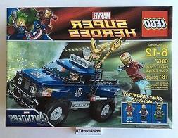 Includes 3 Minifigures: Iron Man, Loki And Hawkeye - LEGO Lo