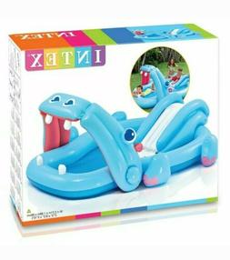 "Intex Hippo Play Center with Built-in Slide, 87"" x 74"" x 34"""