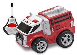 Kid Galaxy Squeezable Remote Control Fire Truck. RC Toy for