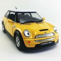 """Kinsmart Set of 4: 5"""" Mini Cooper S 1:28 Scale diecast model"""