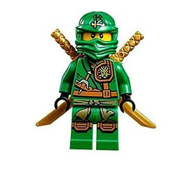 LEGO Ninjago Minifigure - Lloyd Zukin Robe Jungle Green Ninj