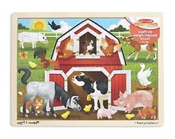 Melissa & Doug Barnyard Wooden Jigsaw Puzzle