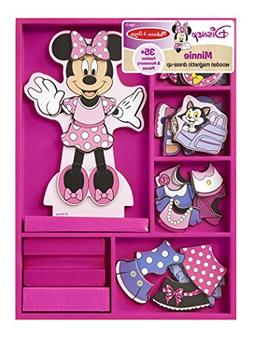 Melissa & Doug Disney Minnie Mouse Magnetic Dress-Up Wooden