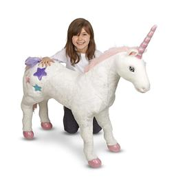 Melissa & Doug Giant Unicorn, Stuffed Animals & Play Toys, S