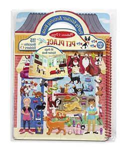 Melissa & Doug Pet Shop Puffy Sticker Set With 115 Reusable