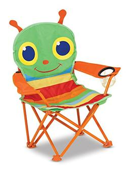 Melissa & Doug Sunny Patch Happy Giddy Outdoor Folding Lawn