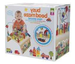 POOF-Slinky 0A1996Z ALEX Toys ALEX Jr. Busy Bead Maze Race A
