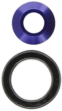 Traxxas 6893X Blue-Anodized Aluminum Bearing Adapter