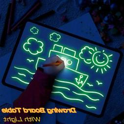 A5 Draw With Light Fun And Developing Drawing Board Kids Edu