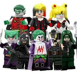 action figures building blocks superheroes new small