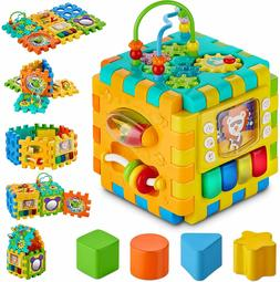 Smart Toys Activity Cube  for Toddler & Babies Early Develop