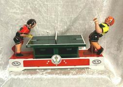 Adult Collectors Retro Wind up Metal Tin Toy - Play Table Te