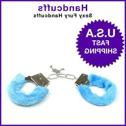 Adult Handcuffs  Furry Fuzzy Sexy Slave Hand Ring Ankle Cuff