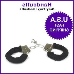 Adult Handcuffs Tied-Up Fuzzy Hand Ring Ankle Cuffs Toy Sexy