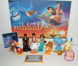 Disney Aladdin Movie Figure Set of 10 Deluxe with Bonus Toy