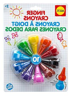 artist studio 10 finger crayons