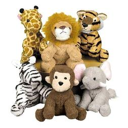 Fun Express Assortment Suede Jungle Animal Set of 12Disconti
