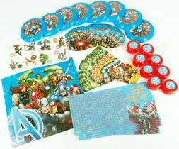 Avengers 'Assemble' Favor Pack 48Pc PARTY FAVORS STANDARD To