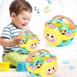 Baby Einstein Flexible Bendy Ball Rattle Toy for Babies Educ
