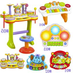 Baby Infant Toddler Developmental Toy Kids Musical Piano Ear