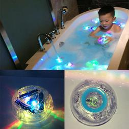 Baby Kids Waterproof LED Light Toys In Tub Bath Color Changi