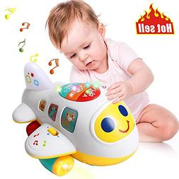 Baby Toys Electronic Airplane Toys w/ Lights Music Kids Earl
