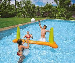 Intex Kids Backyard Fun Play Pool Volleyball Game Slide Infl