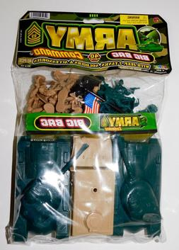 BIG BAG LOT of 40 Plastic Military Toy Soldiers US Army Men