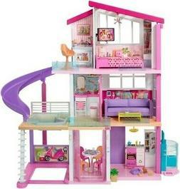 Mattel Barbie Dream House Doll 3 Story Furniture Girls
