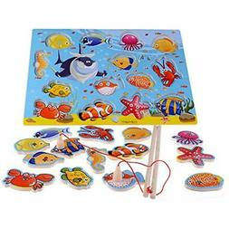 Basic & Life Skills Toys 14-Piece Fishes Educational Develop