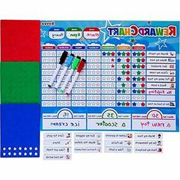 Ryven Basic & Life Skills Toys Kids Reward Chart Set - Magne