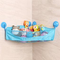 HIPPIH Bath Toy Organizer Bath Toy Bathtub Storage with 4 St