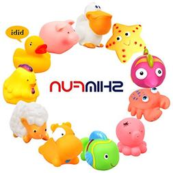 SHIMFUN Baby Bath Toy Best Gife for toddler boy and girl Sum