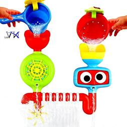 NVBIZ Bath Toys for Toddlers - Fun, Enhances Creativity, and