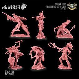 Plastic Platoon Battle of Little Big Horn Indian Warriors Se