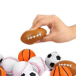 Fun Central BC751 Sports Stress Ball, Stress Balls, Stress B