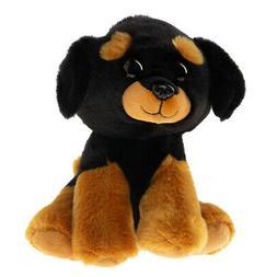 Ty Beanie Babies 42250Trevour, Rottweiler Plush Toy 15cm